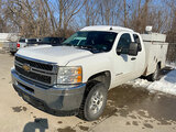 (Chillicothe, MO) 2011 Chevrolet K2500HD 4x4 Extended-Cab Service Truck runs, drives