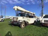 (Opelousas, LA) Altec AM855, Over-Center Material Handling Bucket Truck rear mounted on 2007 Interna