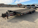 (Wright City, MO) 2014 Interstate 20DT T/A Tagalong Equipment Trailer Has blown tire. Seller states(