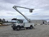 (Chester, VA) Altec AA755L, Material Handling Bucket Truck rear mounted on 2007 International 7300 4