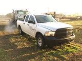(Charleston, TN) 2013 Dodge-RAM W1500 4x4 Crew-Cab Pickup Truck runs, drives