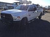 (Columbus, OH) 2014 RAM W2500 4x4 Crew-Cab Pickup Truck runs, bad transmission, sticks in 4th gear p