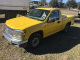 (Ocala, FL) 2007 Chevrolet Colorado Pickup Truck Starts, Runs & Drives; Runs Rough