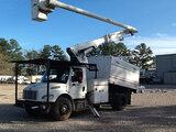 (Graysville, AL) Altec LRV-55, Over-Center Bucket Truck mounted behind cab on 2011 Freightliner M2 1