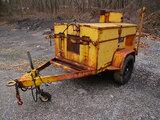 (Harmans, MD) 1981 Hesco 1500 3A Portable Manhole System, trailer mtd Not running, no fuel/propane t