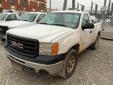 (Joplin, MO) 2012 GMC K1500 4x4 Pickup Truck Runs and drives, minor body damage, missing tail gate