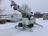 (DeMoine, IA) Altec DB37, Back Yard Digger Derrick mounted on 2009 McElroy Widening Track T9023003 A