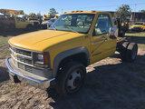 (Ocala, FL) 1999 Chevrolet C3500 Cab & Chassis Starts, Runs & Drives