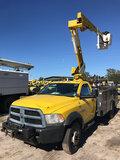 (Ocala, FL) Versalift SST37EIH, Articulating & Telescopic Bucket Truck mounted behind cab on 2013 Do