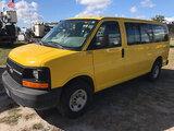 (Ocala, FL) 2008 Chevrolet G3500 Window Cargo Van Starts, Runs & Drives