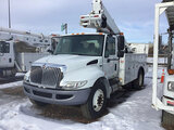 (Shakopee, MN) Altec TA41M, Articulating & Telescopic Material Handling Bucket Truck mounted behind