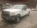 (Hanover, WV) 2014 Ford F150 4x4 Extended-Cab Pickup Truck Starts, runs rough, body damage.