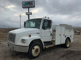 (Wright City, MO) 2004 Freightliner FL70 Utility Truck Starts, runs, drives. Drivers side door latch