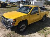 (Ocala, FL) 2012 Chevrolet Colorado Pickup Truck Starts, Runs & Drives