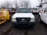 (Ashland, OH) 2008 Ford Ranger 4x4 Extended-Cab Pickup Truck Engine starts, body and frame rust, bur