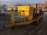 (Des Moines, IA) 2002 Sherman & Reilly Duct Dawg DDHA-75-T Underground Cable Puller, trailer mtd Air
