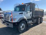 (South Beloit, IL) 2006 International 7400 T/A Dump Truck runs and drives, from seller; secondary ai