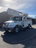 (Paducah, KY) Terex/Telelect HiRanger 46-OM, Material Handling Bucket Truck rear mounted on 2013 Int