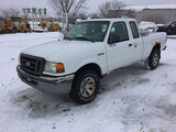 (Des Moines, IA) 2004 Ford Ranger 4x4 Extended-Cab Pickup Truck runs, drives, rust