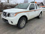 (South Beloit, IL) 2014 Nissan Frontier 4x4 Extended-Cab Pickup Truck runs and drives, severe rear e