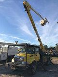 (Ocala, FL) HiRanger 5TC-55, Material Handling Bucket Truck rear mounted on 2007 International 4300