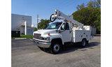 (Hallandale Beach, FL) Altec AT237, Articulating & Telescopic Non-Insulated Bucket Truck mounted beh