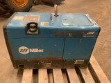 (Neenah, WI) Miller Trailblazer 302 Welder/Generator, skid mtd runs, base mount rusted