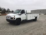 (Chester, VA) 2006 GMC C5500 Service Truck runs and drives, check engine light on, ABS light on