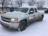 (East Chicago, IN) 2008 Chevrolet K1500 4x4 Extended-Cab Pickup Truck runs & drives, body damage