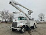 (Kansas City, MO) Altec AA755L, Material Handling Bucket Truck rear mounted on 2007 Peterbilt 335 Ut