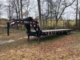 (Clarksville, TN) 2018 PJ Trailers FD402 T/A Goose Neck Equipment Trailer