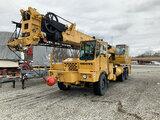 (Gary, IN) 1991 Grove TMS-250C T/A Hydraulic Truck Crane Unit will run, drive, and operate) (No Titl