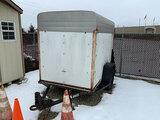 (Sedalia, MO) 1993 Parkhurst U58N1V S/A Enclosed Cargo Trailer