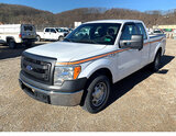 (Smock, PA) 2013 Ford F150 Extended-Cab Pickup Truck runs rough, drives, minor body damage