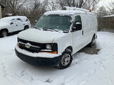(Crown Point, IN) 2008 Chevrolet G2500 Cargo Van Unit will run, drive, and operate.  Jump start requ
