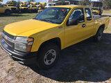 (Ocala, FL) 2012 Chevrolet Colorado 4x4 Extended-Cab Pickup Truck Starts, Runs & Drives