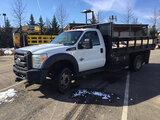 (Manassas, VA) 2011 Ford F550 Stake Truck runs, drives, new engine installed at 62,864 miles, per se
