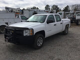 (Chester, VA) 2013 Chevrolet K1500 4x4 Crew-Cab Pickup Truck runs and drives, oil leak, check engine