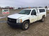 (Charlotte, MI) 2008 Chevrolet K1500 4x4 Pickup Truck runs, drives, body and rust damage, missing ta