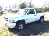 (Normangee, TX) 1998 Dodge W1500 4x4 Pickup Truck, Please Note: Tool Box will be removed prior to sa
