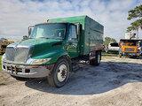 (Ocala, FL) 2006 International 4200 Chipper Dump Truck not running, parts missing, operating conditi