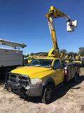 (Ocala, FL) HiRanger LT38, Articulating & Telescopic Bucket Truck mounted behind cab on 2011 Dodge/R