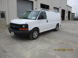 (Houston, TX) 2007 Chevrolet G1500 Cargo Van Starts and runs, drives, minor body damage.