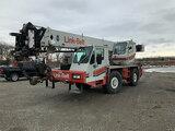 (Gary, IN) 2001 Link Belt ATC-822, 22-Ton Rough Terrain Crane runs, drives, operates, spare wheel an