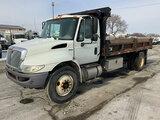 (South Beloit, IL) 2011 International 4300 DuraStar Dump Truck runs, drives, dump operates, hood and