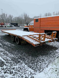 (Hagerstown, MD) 1997 McElrath 825T10T 10 Ton T/A Tagalong Equipment Trailer wheel bearing seals lea