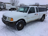 (Des Moines, IA) 2001 Ford Ranger 4x4 Extended-Cab Pickup Truck runs, drives, rust damage