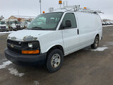 (South Beloit, IL) 2008 Chevrolet G3500 Cargo Van runs and drives, paint and rust damage(see pics