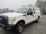 (Shelby, NC) 2012 Ford F250 4x4 Extended-Cab Pickup Truck engine starts and runs, drive train operat