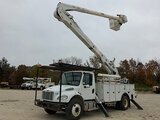 (Wright City, MO) Altec AN55E-OC, Material Handling Bucket Truck rear mounted on 2013 Freightliner M